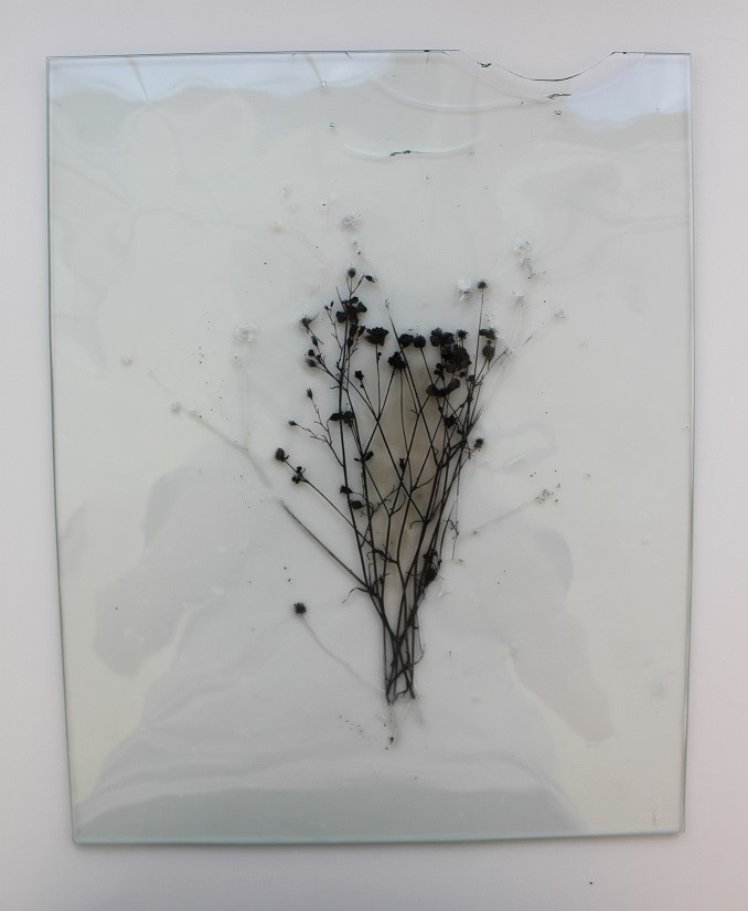 Captured Meaning, 2014, Glass, 21x29cm