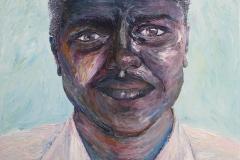 Pleasantries, 2014, Acrylic on Canvas,  60x40cm