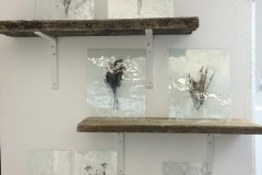Absent Presence Series, 2014, Glass and Reclaimed Wood