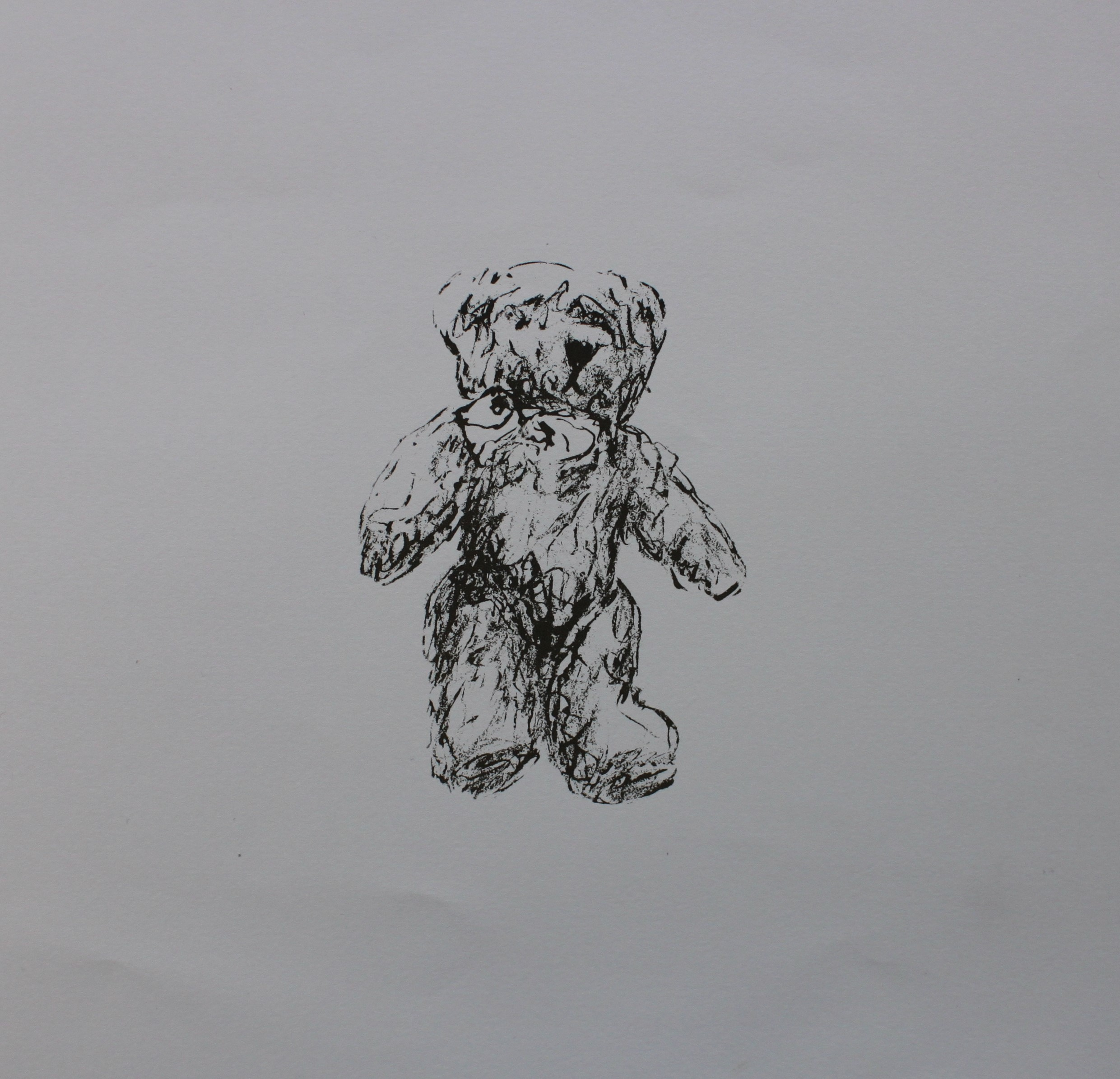 Bear With Me, 2015, Screenprint, Edition of 10, 20x20cm