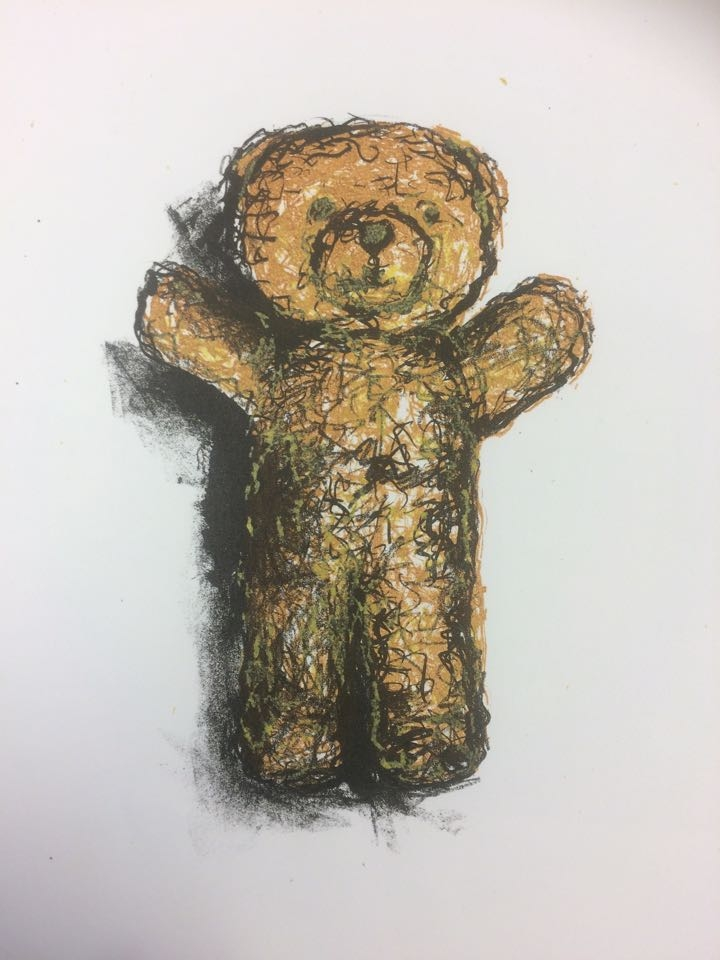 I Can't Bear It, 2015, Lithograph, Edition of 5, 29x42cm