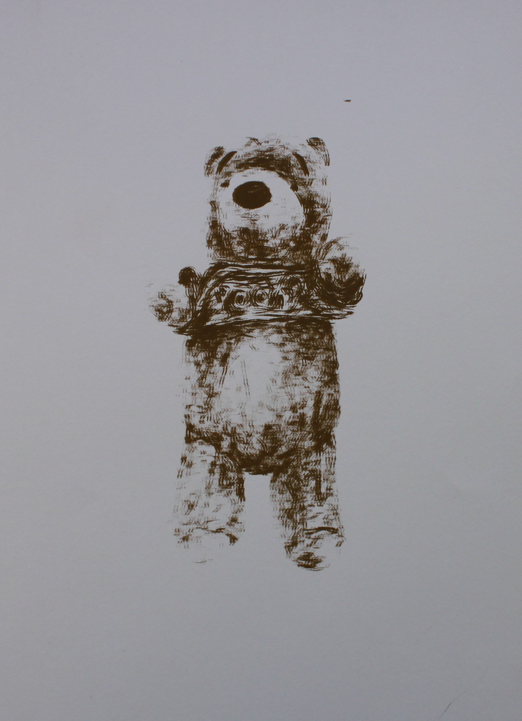 'Pooh' 3, 2015, Screenprint, Edition of 3, 29x42cm