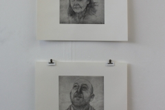 Quiet Exchanges, 2017, 2 Etchings, Each an Edition of 5, Each 60x48cm (Plate sizes 30x28cm). Sold 3 of 5.