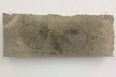 Untitled 1, 2017, Etching, Edition 1 of 2, 30x12cm