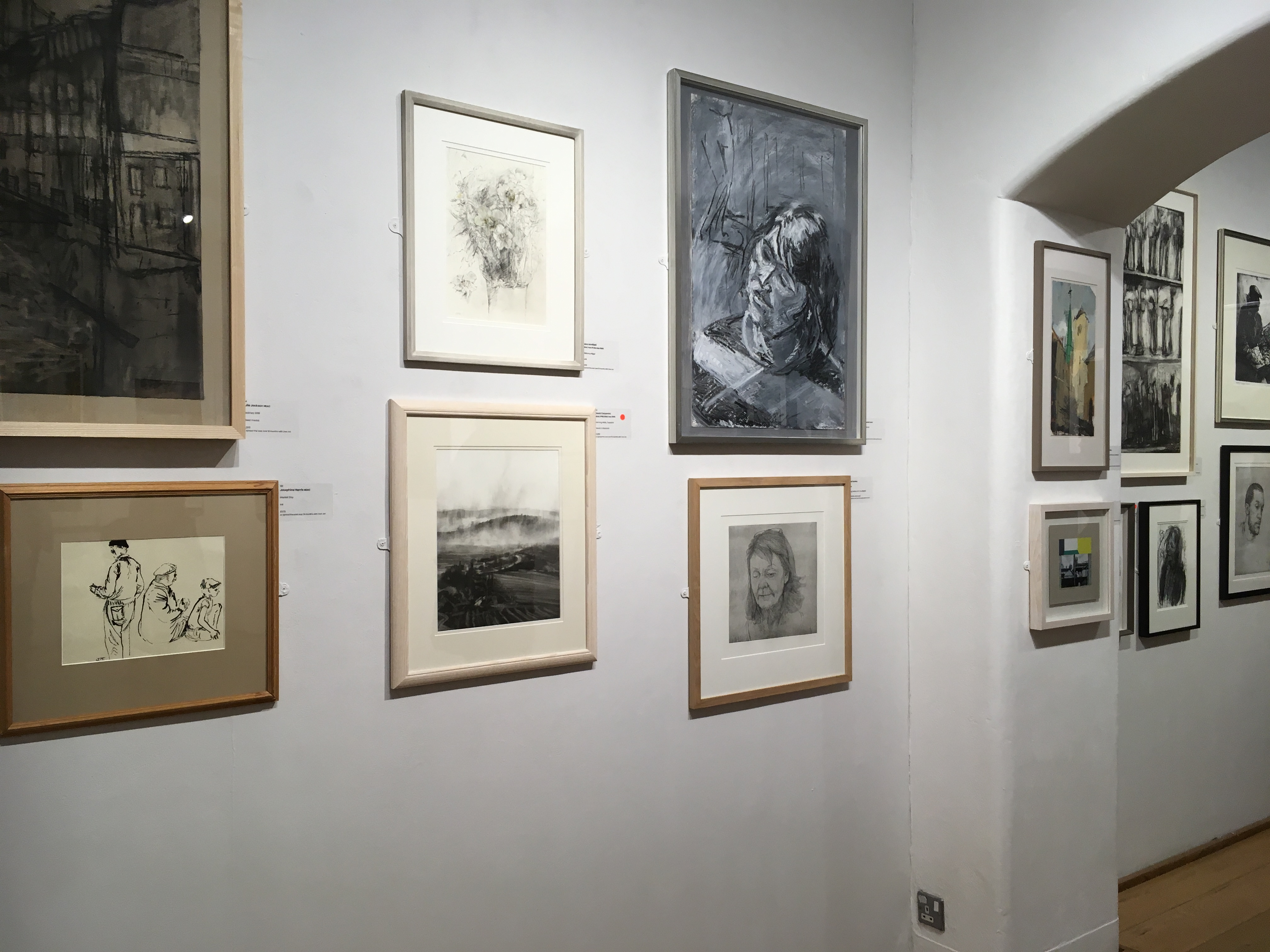 New English Art Club Annual Exhibition 2019, Mall Galleries, London