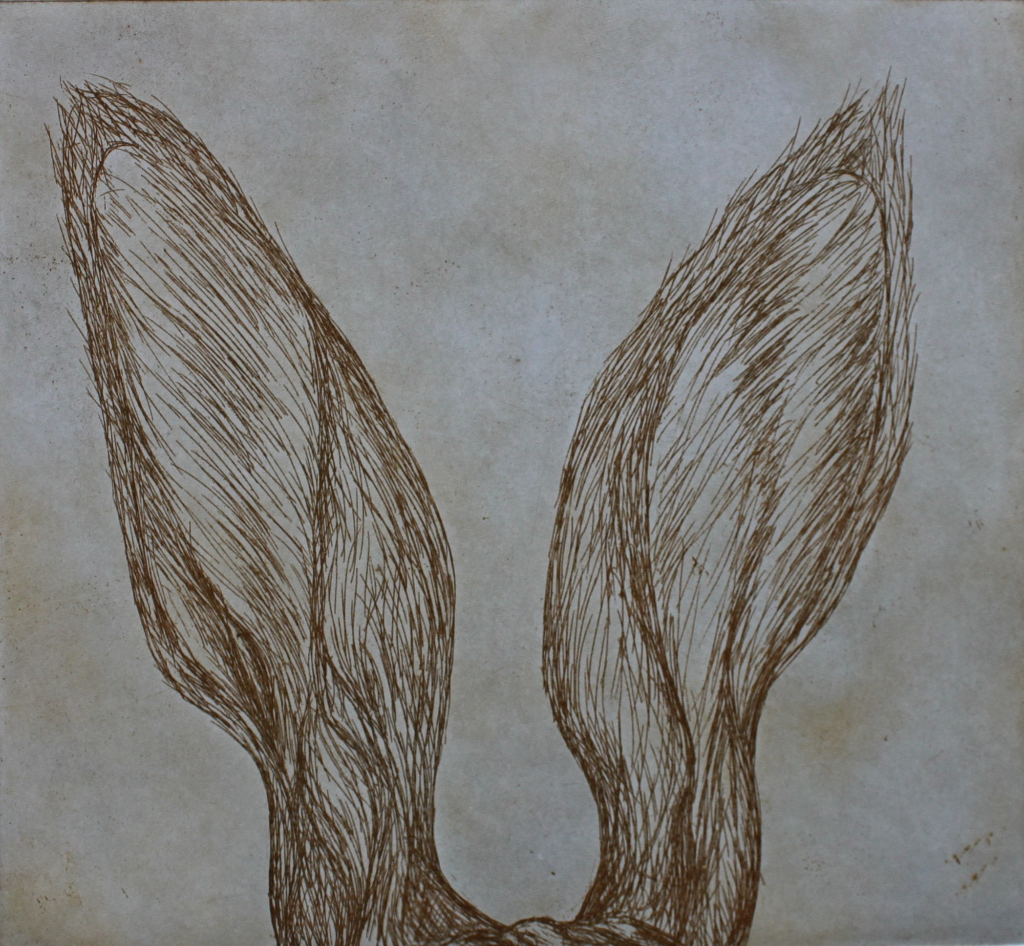 Listin In, 2016, Etching, Edition of 10, 30x20cm